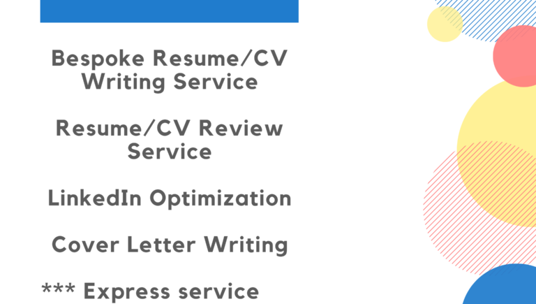 Cv Resume Writing Service Spotlancer